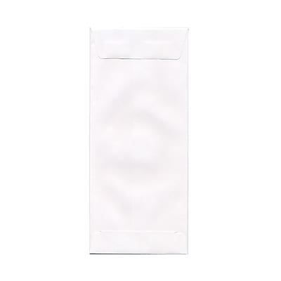 JAM Paper® #11 Policy Envelopes, 4 1/2 x 10 3/8, White, 25/pack (1623187)