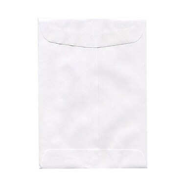 JAM Paper® 5.5 x 7.5 Open End Envelopes, White, 25/pack (4100)