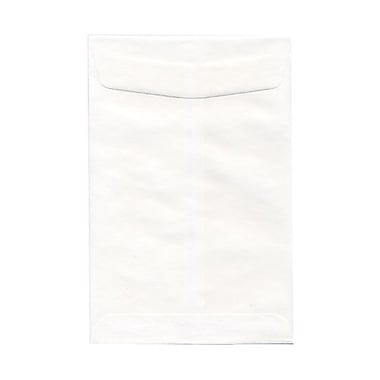 JAM Paper® 6 x 9 Open End Envelopes, White, 1000/Pack (01623192B)