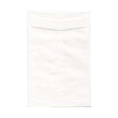 JAM Paper® 6.5 x 9.5 Open End Envelopes, White, 1000/carton (01623193B)
