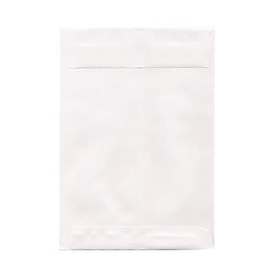 JAM Paper® 7 x 10 Open End Envelopes, White, 25/pack (1623194)