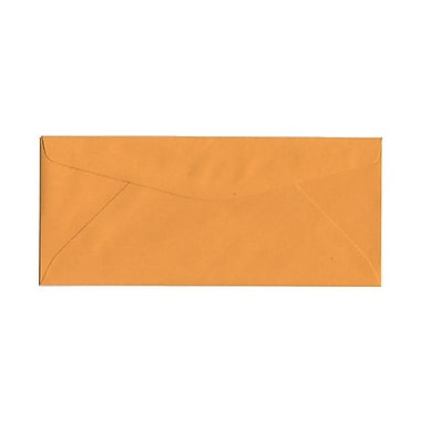 JAM Paper® #11 Business Commercial Envelopes, 4.5 x 10.38, Brown Kraft, 200/Pack (1633180g)