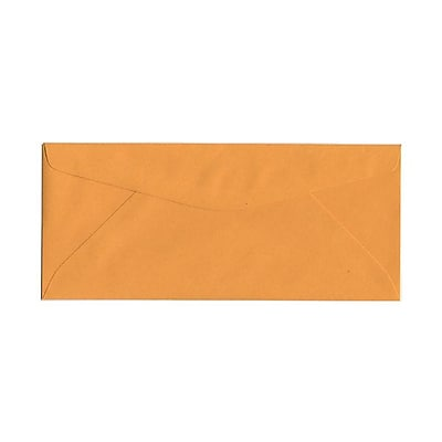 JAM Paper® #11 Business Commercial Envelopes, 4 1/2 x 10 3/8, Brown Kraft, 1000/carton (01633180B)