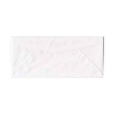 JAM Paper® #14 Business Commercial Envelopes, 5 x 11.5, White, 100/Pack (53273g)