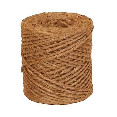 JAM Paper® Natural Jute Kraft Twine, 73 Yards, Brown, Sold Individually (6785142)