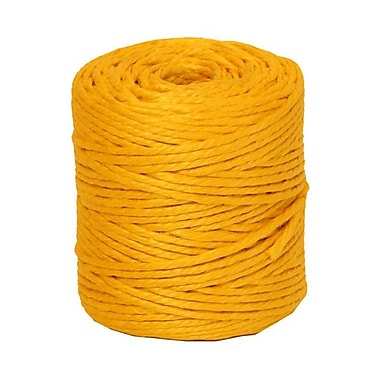 JAM Paper® Kraft Twine, 73 Yards, Yellow, Sold Individually (267820981)