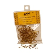 JAM Paper® 15/Pack Butterfly Paper Clips