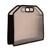 JAM PaperMD – Étui de transport avec poignées, 14,75 x 10,75 x 3,75 po, transparent, 4/paquet (298023961g)
