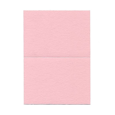 JAM Paper® Blank Foldover Cards, 4bar / A1 size, 3 1/2 x 4 7/8, Pink, 100/pack (309881)
