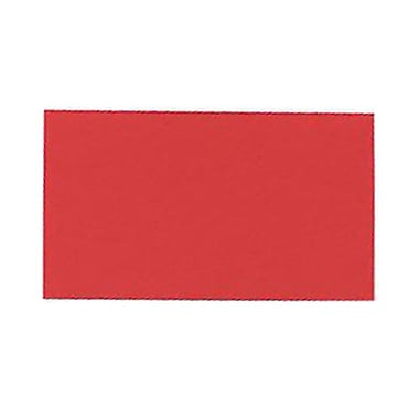 JAM Paper® Blank Note Cards, 3drug size, 2 x 3.5, Red, 500/box (11756575B)