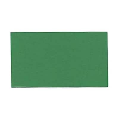 JAM Paper® Blank Note Cards, 3drug size, 2 x 3.5, Green, 500/box (11756575C)