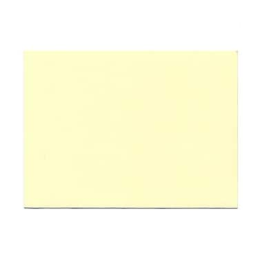 JAM Paper® Blank Note Cards, A6 size, 4 5/8 x 6 1/4, Ivory with Panel Border, 100/pack (175995)