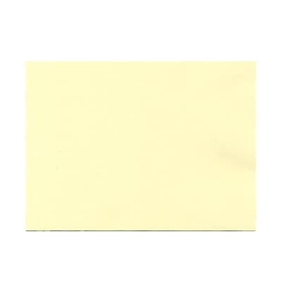 JAM Paper® Blank Note Cards, A7 size, 5 1/8 x 7, Ivory, 100/pack (1751005)