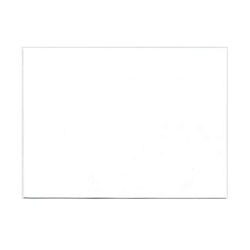 jam paper® blank note cards a7 size 5 18 x 7 white