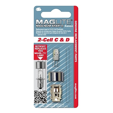 Maglite® C or D 2-Cell Replacement Lamp (LMXA201)