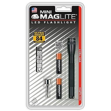 Maglite® Mini LED 2-Cell AAA Flashlight, Black (SP32016)