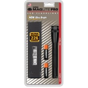 Maglite® Mini LED 2-Cell AA PRO Flashlight, Black (SP2P01H)