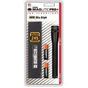 Maglite® Mini LED 2-Cell AA PRO+ Flashlight, Black (SP+P01H)
