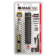 Maglite® MAG-TAC™ Crowned Bezel 2-Cell LED Flashlight, Black (SG2LRA6)