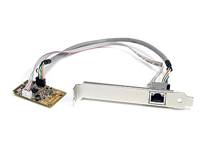 StarTech ST1000SMPEX 1 Port Mini PCI Express Gigabit Ethernet Network Adapter NIC Card