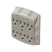 STEREN® 6-Outlet 370 Joule Plug-In Surge Protector (905-307 )