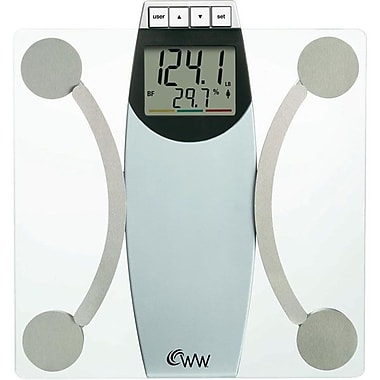 Conair® Weight Watchers® Glass Body Analysis Scale