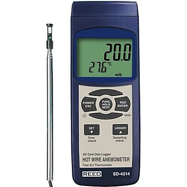 Reed SD-4207 Thermo-Anemometer/Data Logger