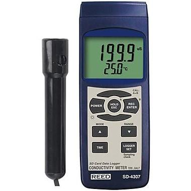 REED - Conductomètre/TDS-mètre/salinomètre/enregistreur de données SD-4307