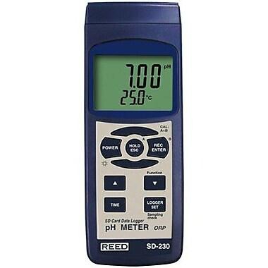 Reed SD-230 pH/ORP Meter/Data Logger