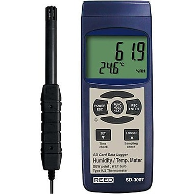 Reed SD-3007 Thermo-Hygrometer/Data Logger