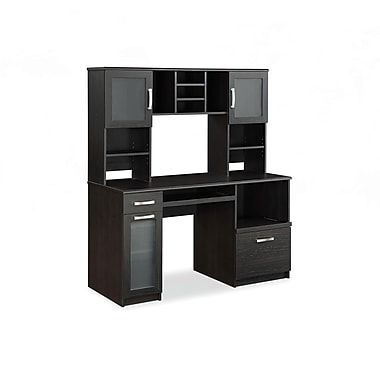 whalen tag re et bureau informatique greenwich espresso staples. Black Bedroom Furniture Sets. Home Design Ideas