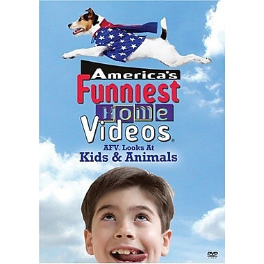 America's Funniest Home Videos Looks at Kids & Animals (DVD)