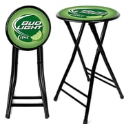 "Trademark Global 24"" Bud Light Lime Folding Stool, Green/Lime (AB2400-BLLIME)"