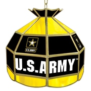 "Trademark Global® 16"" Tiffany Lamp, U.S. Army"