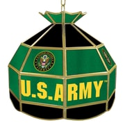 "Trademark Global® 16"" Tiffany Lamp, U.S. Army Symbol"