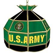 "Trademark Global® 16"" Tiffany Lamp, U.S. Army Symbol"