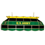 "Trademark Global® 40"" Tiffany Lamp, U.S. Army Symbol"