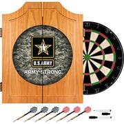 Trademark Global Solid Pine Dart Cabinet Set, U.S. Army Digital Camo by
