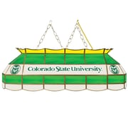 "Trademark Global® 40"" Stained Glass Tiffany Lamp, Colorado State University® NCAA"