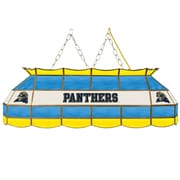 """Trademark Global® 40"""" Stained Glass Personalized Tiffany Lamp, University of Pittsburgh NCAA"""