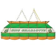 "Trademark Global® 40"" Stained Glass Tiffany Lamp, North Carolina Charlotte NCAA"