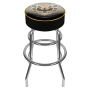 Trademark Global® Vinyl Padded Pontiac Firebird Swivel Bar Stools