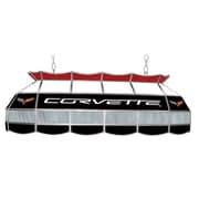 "Trademark Global® 40"" Stained Glass Tiffany Lamp, Corvette C6"