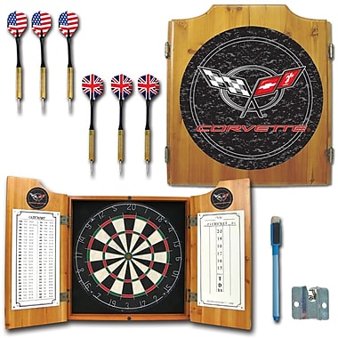 Trademark Global® Solid Pine Dart Cabinet Set, Corvette C5