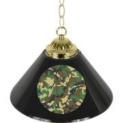 "Trademark Global® 14"" Single Shade Bar Lamp, Black, Hunt Camo"