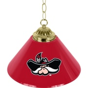 "Trademark Global® 14"" Single Shade Bar Lamp, Red, UNLV™ NCAA"