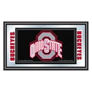 "Trademark Global® 15"" x 26"" The Ohio State University Logo and Mascot Wood Framed Mirrors"