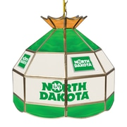 "Trademark Global® 16"" Stained Glass Tiffany Lamp, U of North Dakota NCAA"