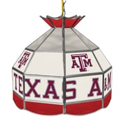 """Trademark Global® 16"""" Stained Glass Tiffany Lamp, Texas A&M University NCAA"""