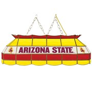 "Trademark Global® 40"" Stained Glass Tiffany Lamp, Arizona State® University NCAA"